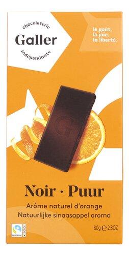 Galler noir orange