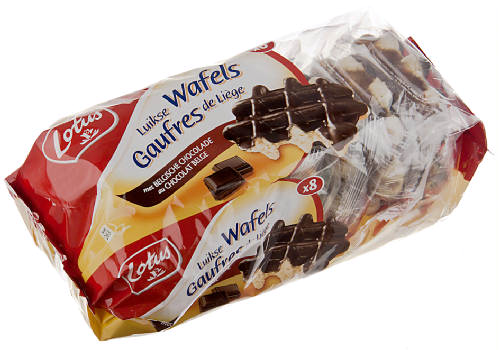 Belgian waffles chocolate